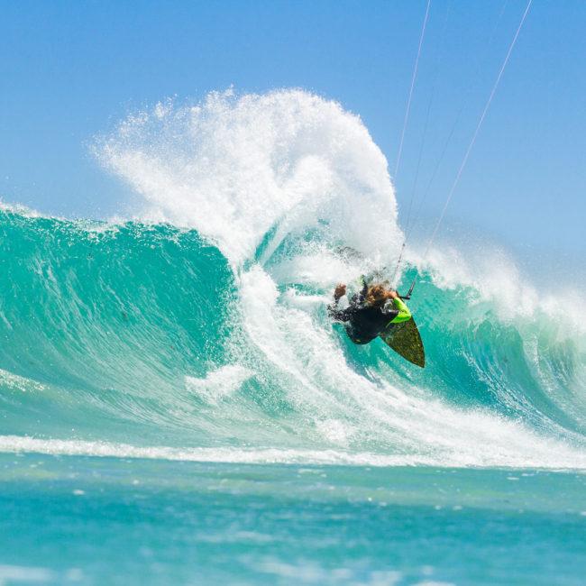 Appletree Surfboards kitesurfing in Cape Town