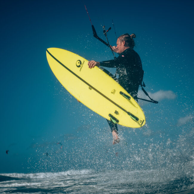 jump kiteboard