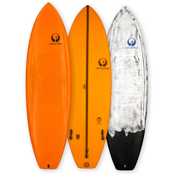 Applino, advanced strapless kiteboard