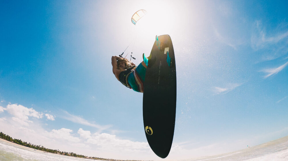 Klokhouse noseless, your most allround wave kitesurf board but in a smaller package