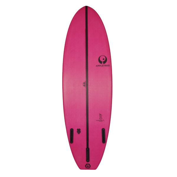 Bottom klokhouse noseless allround wave kiteboard