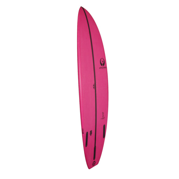 Side allround wave kiteboard