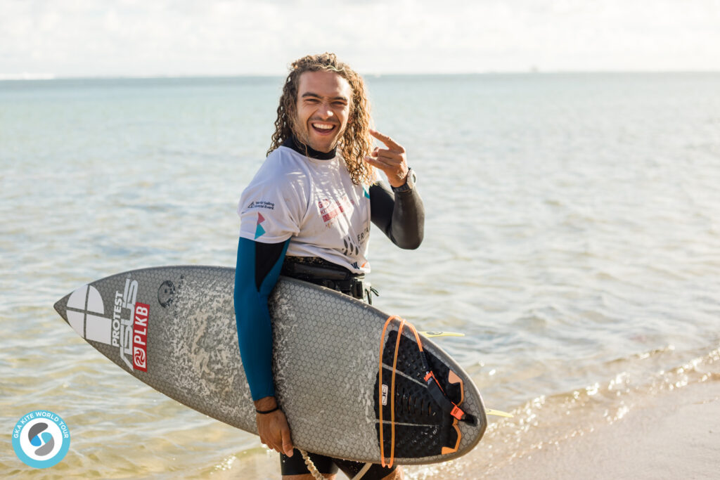 Teamrider Roderick Pijls in Mauritius
