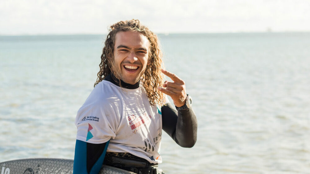 Roderick Pijls Appleflap kite surfboard pin tail