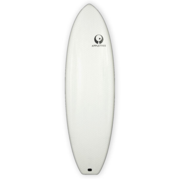 Appletree White Line best selling board Klokhouse Noseless deck