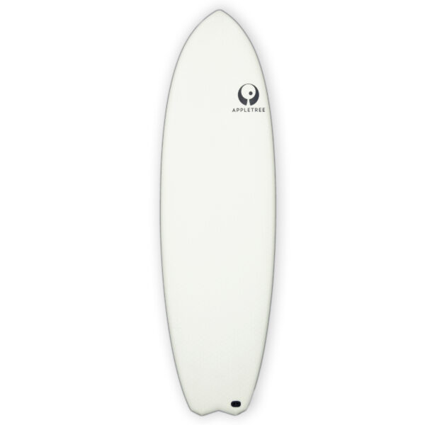 Appletree White Line kiteboard Malus Domestica deck