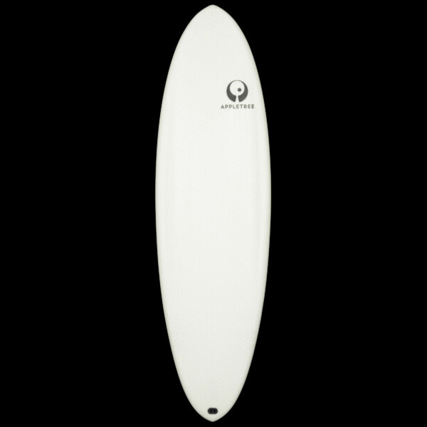 The Appleflap Noseless is a modern approach to a more traditional wave kiteboard