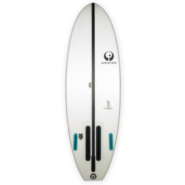 Appletree Klokhouse Noseless Convertible foil kiteboard deck