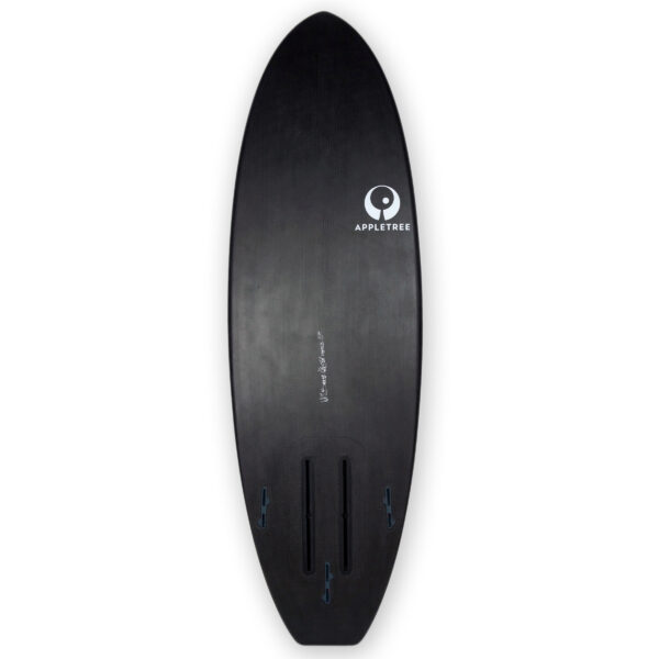 Appletree Klokhouse Noseless Convertible carbon foil kiteboard bottom