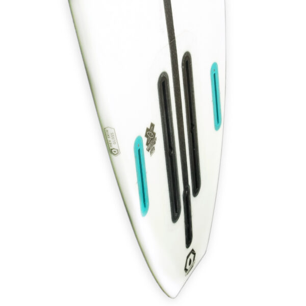 Appletree Klokhouse Noseless Convertible foil kiteboard tail side