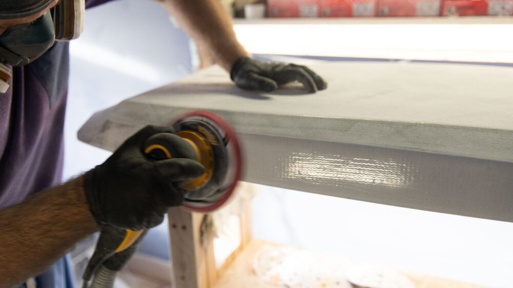 Behind the scenes Appletree Surfboards Factory