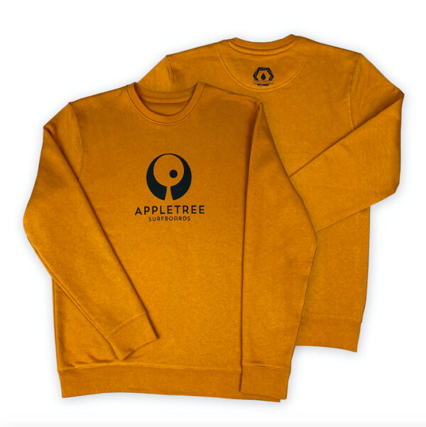 100% certified GOTS organic cotton surf sweater