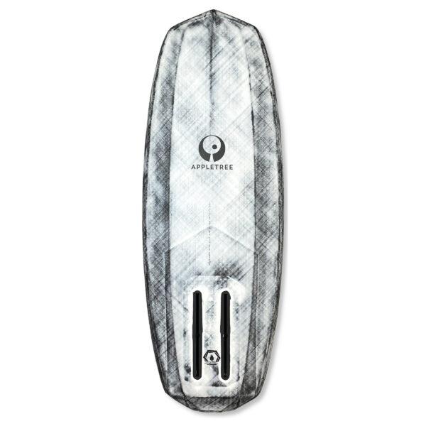 Appleslice surf foil board bottom