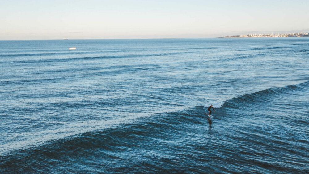 Martijn, Appletree's surf foiling ambassador