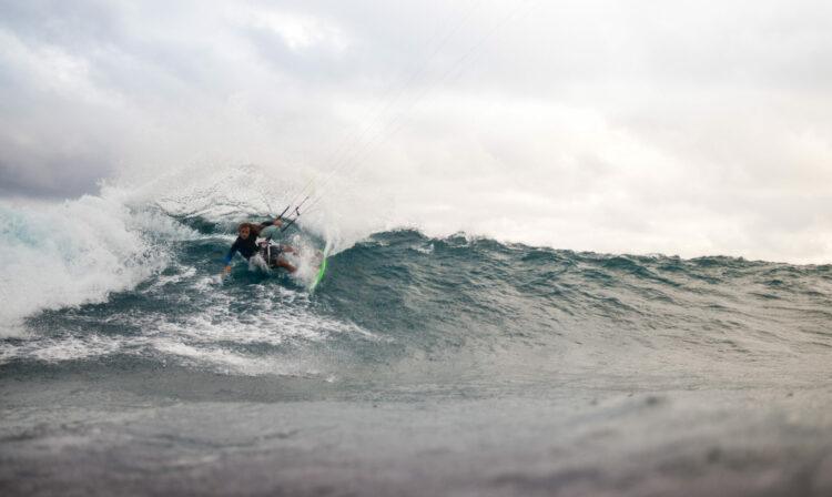 wave kite spot Mauritius