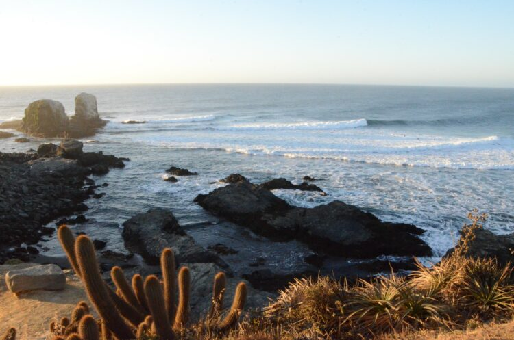 Pichilemu, for surfing lefts