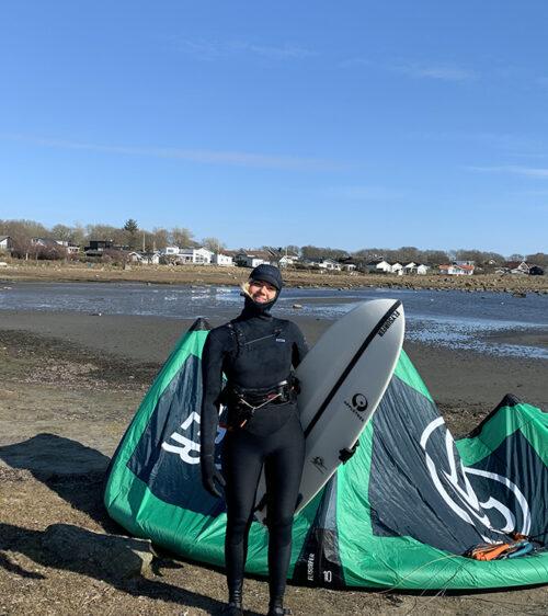 Johanna-Catharina teamrider Appletree Surfboards