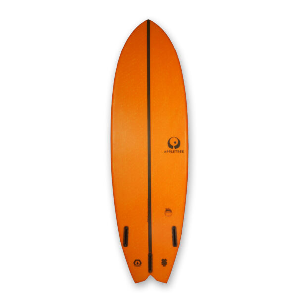 Bottom custom jonagold surfboard