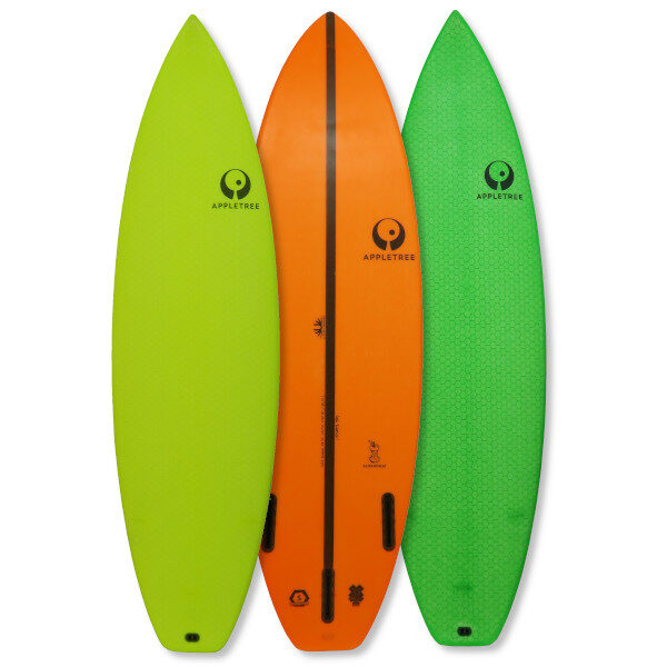 Appletree Klokhouse, the ultimate crossover wave kite surfboard