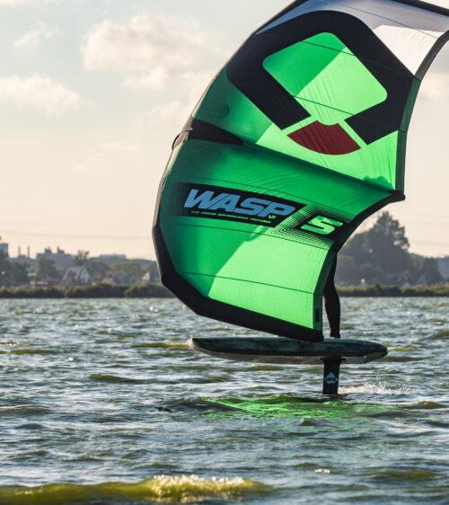 Luke Mcgillewie wing foil surfing