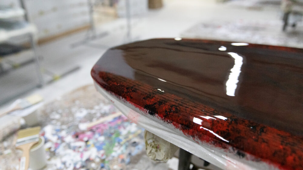 Appletree surfboards factory