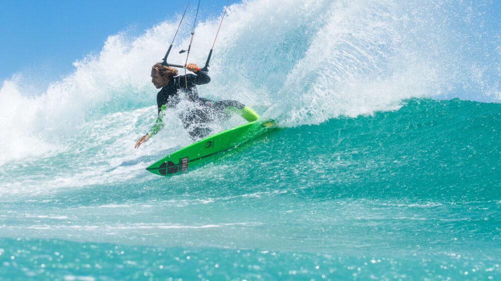 Roderick Pijls Klokhouse kiteboard squash tail