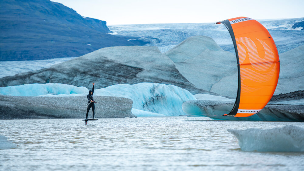 mini foil kiteboard